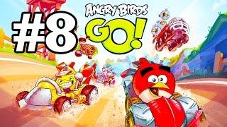 Angry Birds Go! Геймплей Прохождение Часть 8  Gameplay Walkthrough Part 8(Добро пожаловать на трассы скоростного спуска Свинского острова! Почувствуйте кайф гонки вместе с птицами..., 2015-01-20T08:08:55.000Z)