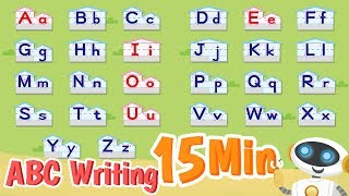 A to Z Letters  ABC Writing  Alphabet Writing