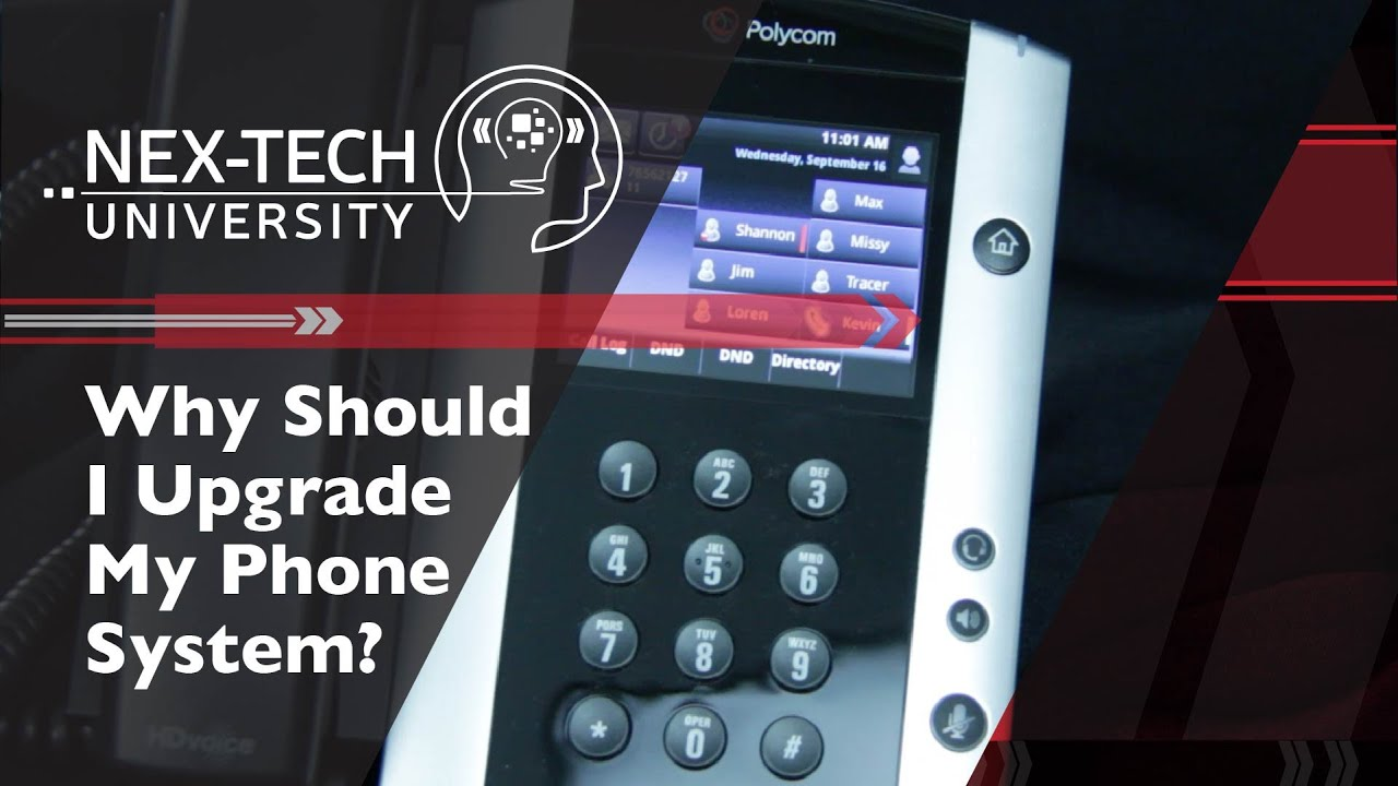 Why Should I Upgrade My Phone System