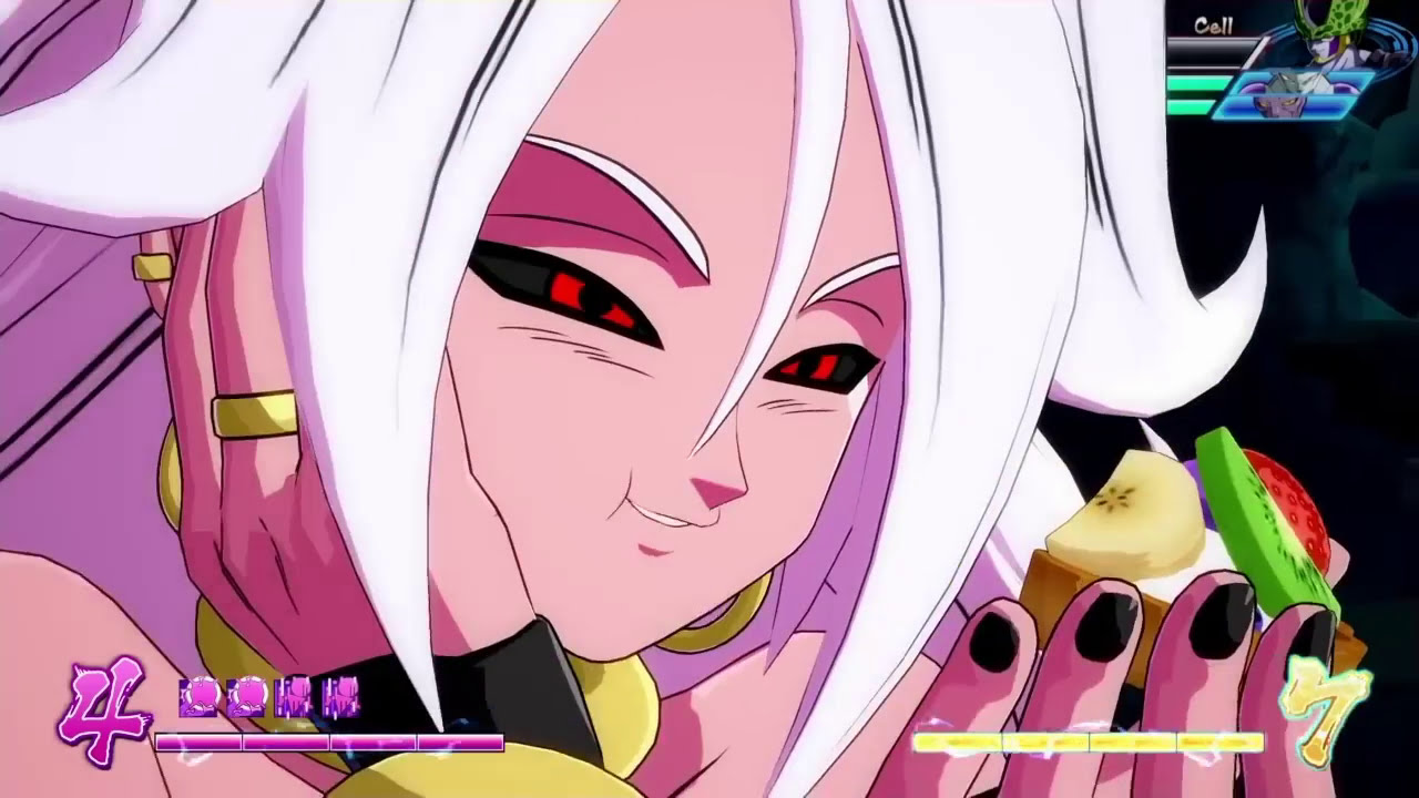android 21 dragon ball fighterz combo