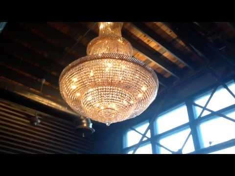 Biggest chandelier ive ever seenwk106 youtube aloadofball Gallery