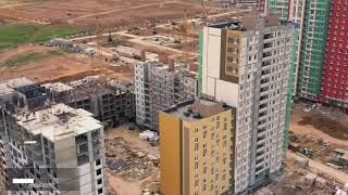 """Жилой комплекс """"Новая Кузнечиха"""": Отчет о ходе строительства июнь 2019 г."""