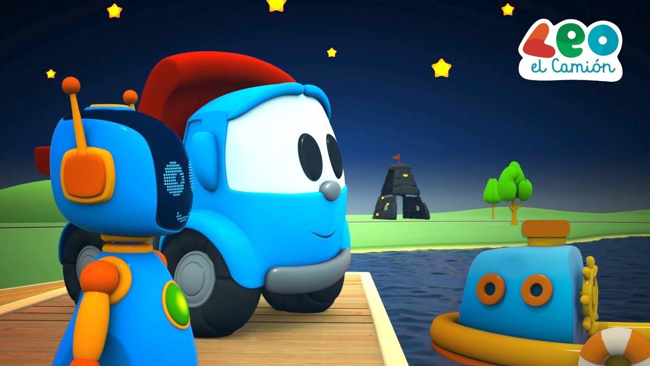 Leo el Camión Canciones Infantiles - Rema tu Barco - Videos para niños
