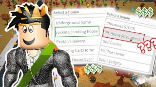 SHOWING ALL MY BLOXBURG PLOTS... EVEN A SECRET REAL LIFE HOUSE?!?