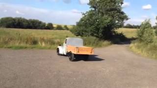 Fordson van 1949 converted to pickup