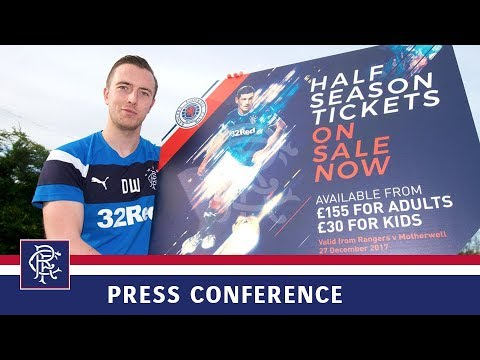 PRESS CONFERENCE | Danny Wilson | 15 Dec 2017