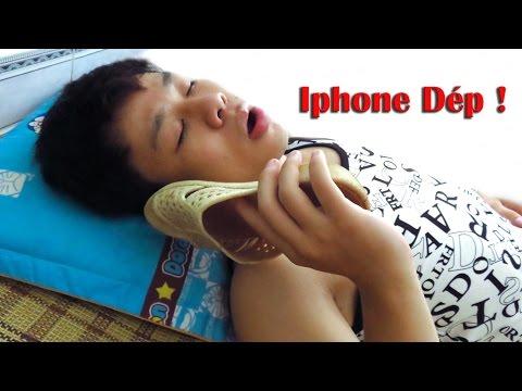 NTN - Trò Đùa Nghe Iphone Dép - Iphone Slipper Prank