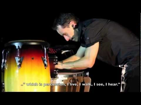 "TUPAC MANTILLA - Solo Percussion ""ONE"" Documentary"