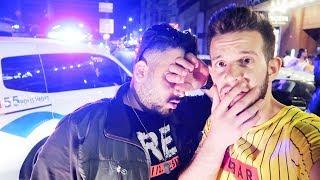 الشرطة العنصريين اخذونا وكانوا حيسجنونا ومشكلة كبيرة صارت!!!