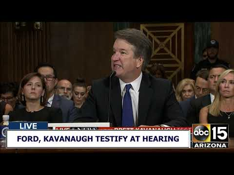 RAW: FIRST HALF of Brett Kavanaugh full testimony