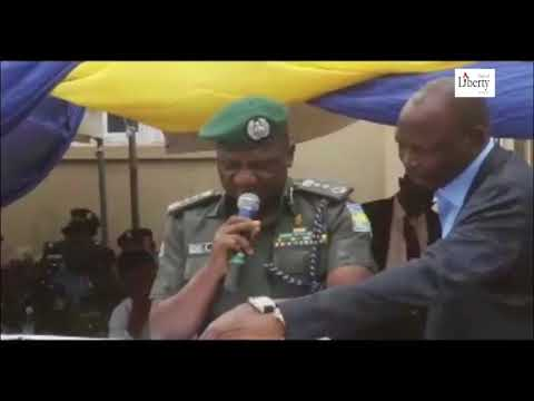 The IG of Police was in Kano on Monday to commission the Force Technical Intelligence Unit