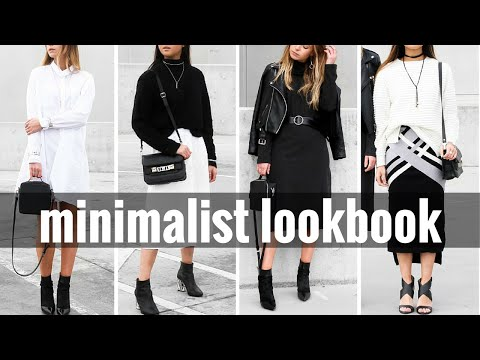 Minimalist Lookbook AW 16