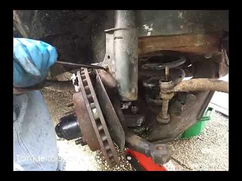 19821992 CamaroFirebird Front Strut  Shock replacement thirdgen  YouTube