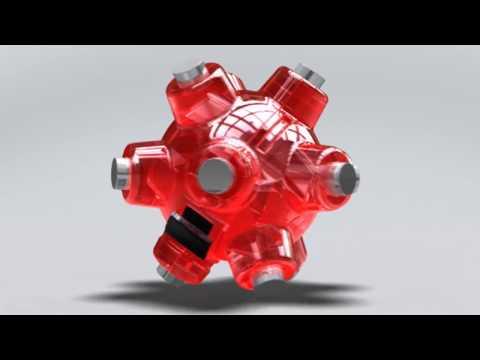 Mini Magnetic Light Mine Flashlight By Striker Concepts