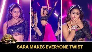 Sara Ali Khan Makes Everyone Twist With Her Dance Moves   Umang 2020