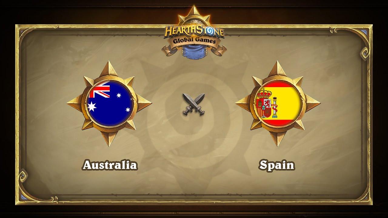 Австралия vs Испания | Australia vs Spain | Hearthstone Global Games (16.05.2017)