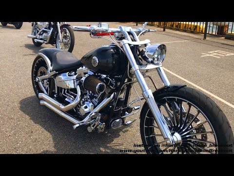 Harley-Davidson FXSB Exhaust Sound 🇯🇵Manabu from Japan 🇯🇵