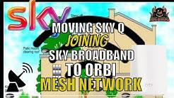 Wi-fi Problems SkyQ Orbi and moving a SKY Q box