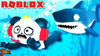 Escape Sharks in ROBLOX AQUARI…