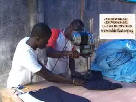 T Shirt Factory Nigeria - The Best of SME & Local Content in Nigeria - WinTV247