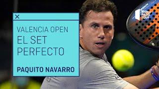 El set perfecto de Paquito Navarro en el Estrella Damm Valencia Open 2021   World Padel Tour