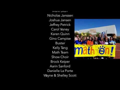 Naperville North High School Lip Dub 2016 - Credits