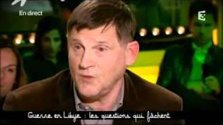 Michel Collon dans Ce soir ou jamais  du 21 mars 2011 - Guerre (Invasion) de Libye