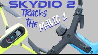 I strapped the Skydio beacon to my mavic, Will the Skydio 2 track it