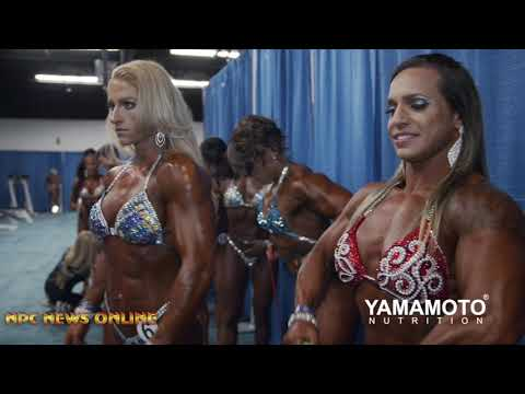 2019 NPC Amateur Arnold USA Women's Backstage Video Pt.1