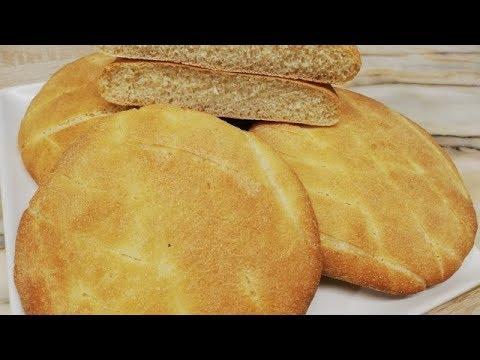 recette-du-pain-arabe-a-la-semoule-facile-(cuisine-rapide)