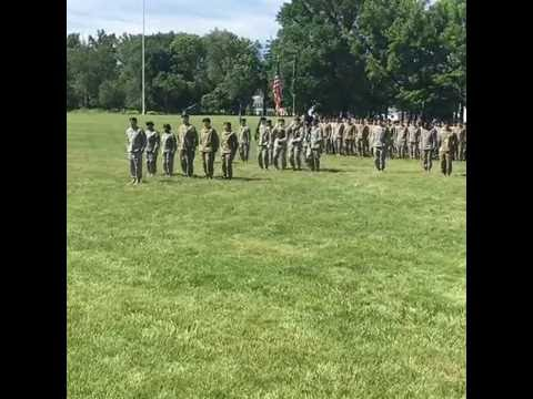 22nd CBRN Battalion Casing Ceremony