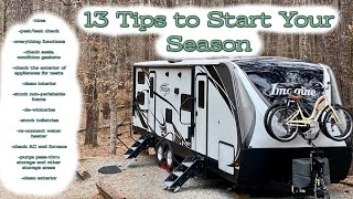 PREPPING THE RV FΟR CAMPING SEASON: Our 13 Tips to Help You Hit the Road with Ease