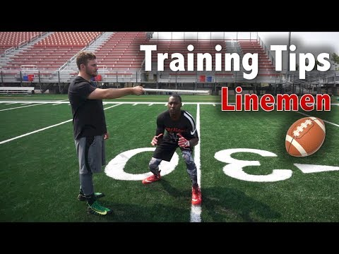 5 Tips to be a Better Lineman - Football Tip Fridays
