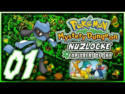 Pokémon Mystery Dungeon Explores of Sky Nuzlocke Part 1: Living in the Pokémon world!
