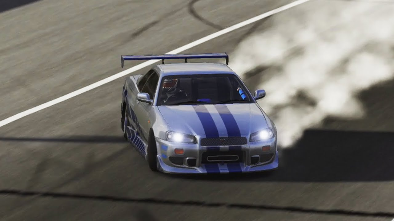 Forza 6 Paul Walker S Nissan Skyline R34 Youtube