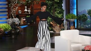 The Marvelous Janelle Monáe Joins Ellen