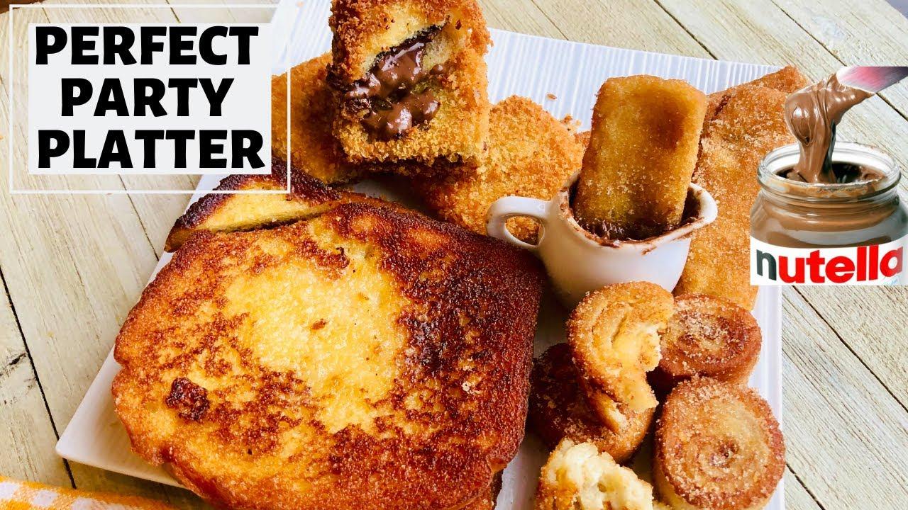 4 Quick French Toast Recipes-Bread Churros, Pinwheel ...