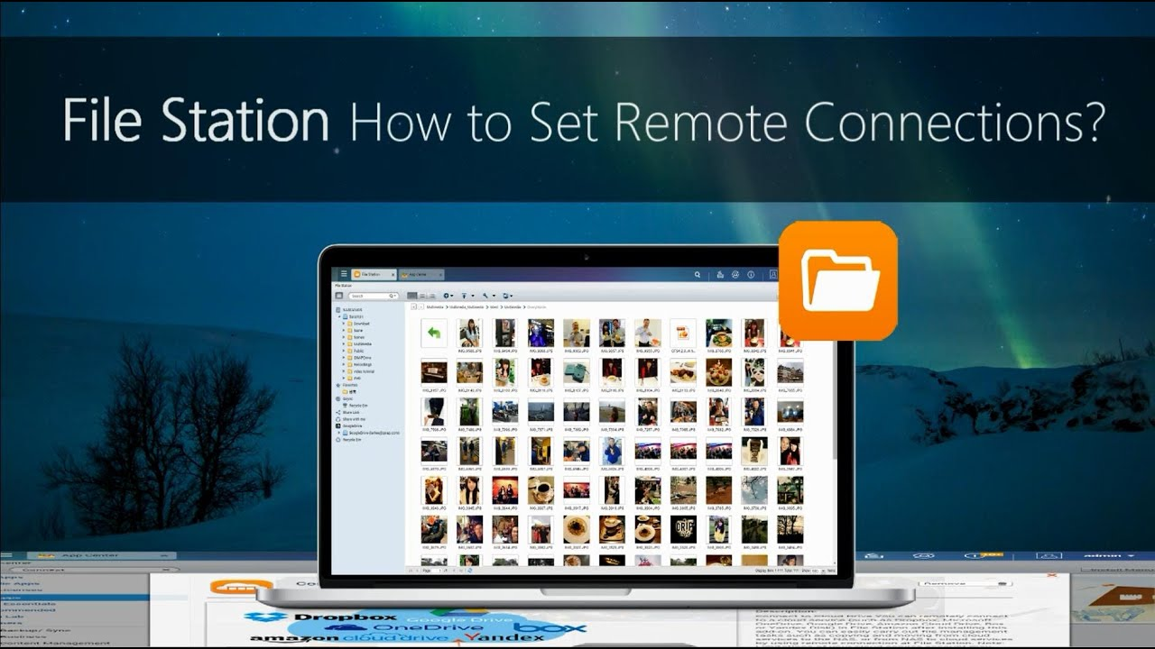 [File Station] How to set remote connections