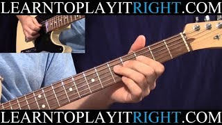 "TABS & Detailed Lesson in HD @ http://www.learntoplayitright.com ""C..."
