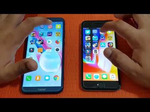 Honor 9 Lite Vs Iphone 6
