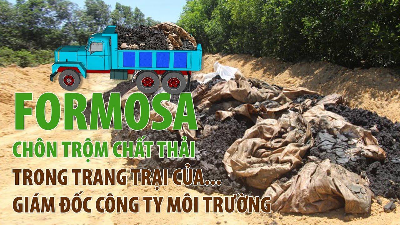 (VTC14)_ Formosa chôn trộm chất thải trong trang trại của… Giám đốc công ty môi trường