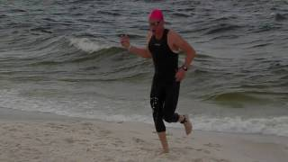 2010 Gulf Coast Triathlon 1st Pro out of the water 26 mins.