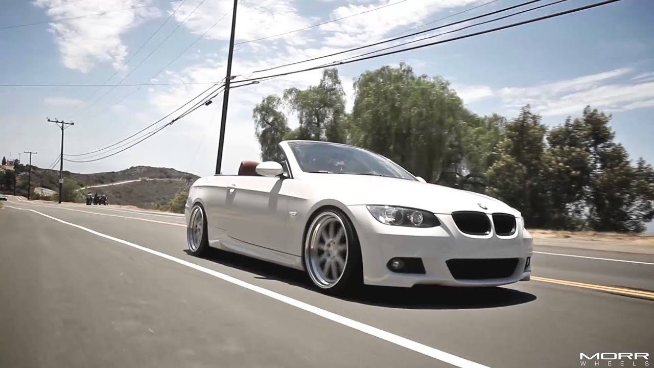 morr wheels bmw e93 335i on 20 mf90 street youtube. Black Bedroom Furniture Sets. Home Design Ideas