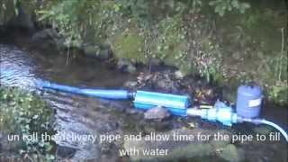 the papa zero energy ram pump rapid deployment system free water