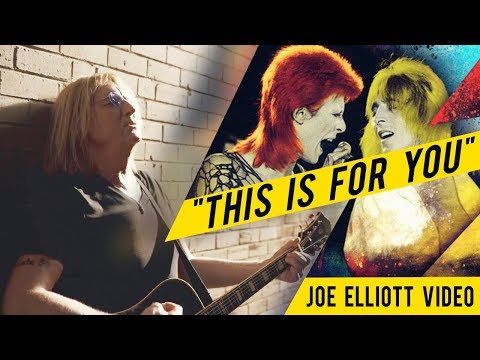 """""""This Is For You"""" MICK RONSON Tribute By JOE ELLIOTT"""