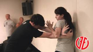 Krav Maga: Choke from Behind, How To Fight, Real Self Defense Techniques