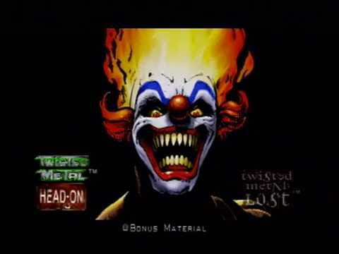 Twisted metal head on extra twisted edition sweet tooth - Sweet tooth wallpaper twisted metal ...