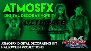 AtmosFX digital decorating kit   Halloween projections