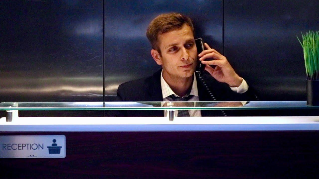 Elevator Receptionist Prank