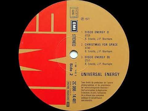 "Universal Energy ""Disco energy 1"" 1977 EMI"